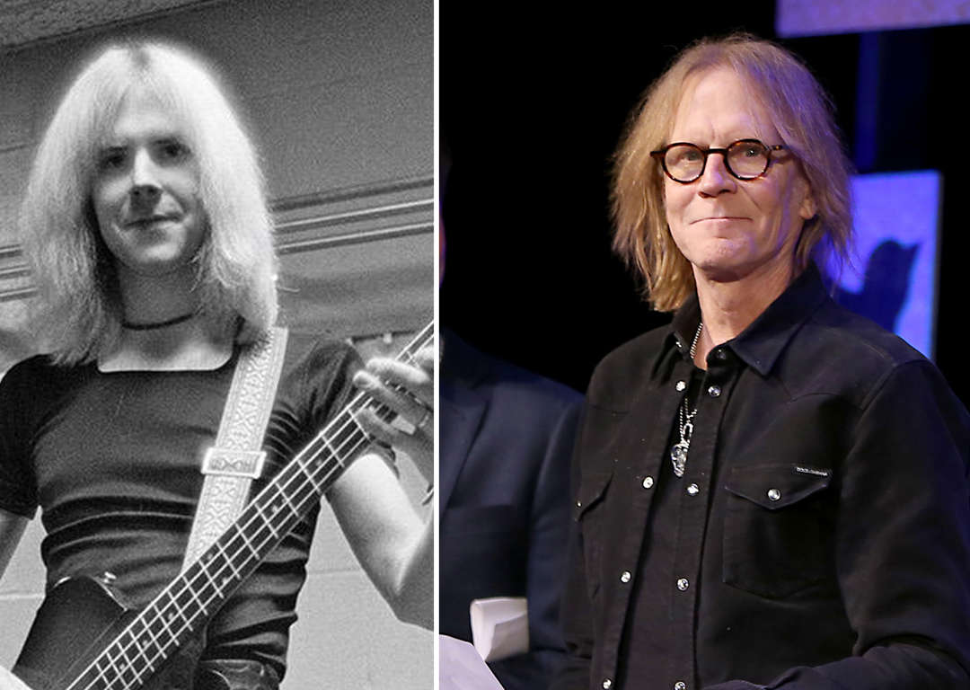 Rock gods of the '70s: Then and now