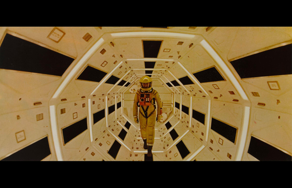 Slide 1 of 40: A movie still from Stanley Kubrick's 1968 science fiction film '2001: A Space Odyssey' starring Gary Lockwood. (Photo by Movie Poster Image Art/Getty Images)