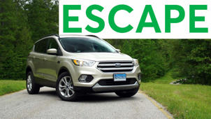 2017 Ford Escape Road Test