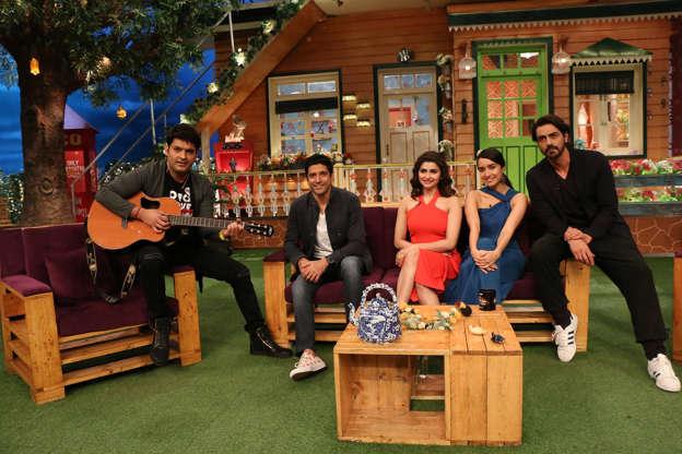 Celebrities on The Kapil Sharma Show