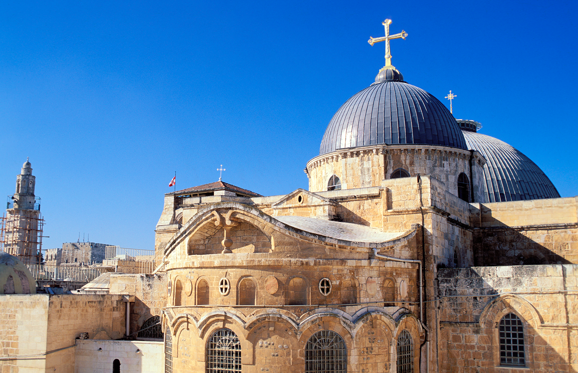 Church of the Holy Sepulcher in the Old City of Jerusalem