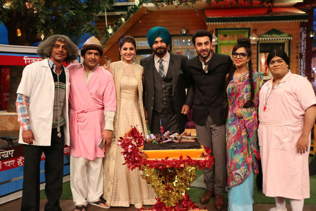 Ae Dil Hai Mushkil stars on The Kapil Sharma Show