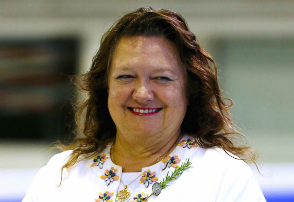 Slide 15 of 20: Gina Rinehart at the Channel 10 AGM on November 9, 2011 in Sydney, Australia.