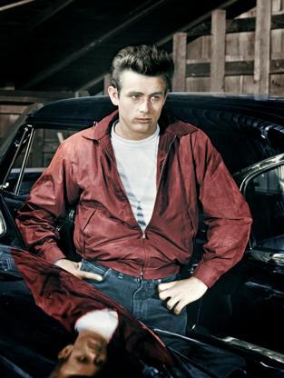 Διαφάνεια 18 από 45: James Dean plays Jim Stark in the motion picture Rebel Without a Cause.