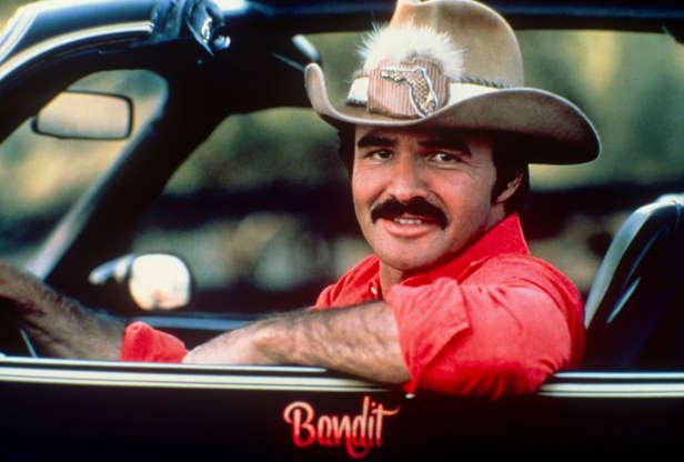 Διαφάνεια 43 από 45: Burt Reynolds in the car from Smoky and the Bandit; circa 1970; New York.