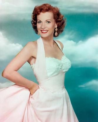 Διαφάνεια 13 από 45: Irish actress Maureen O'Hara, circa 1950. (Photo by Silver Screen Collection/Hulton Archive/Getty Images)