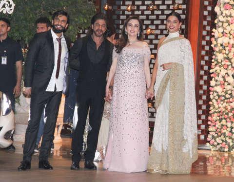 Celebrities At Isheta Salgaocars Pre Wedding Party