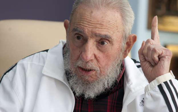 Tiene Fidel Castro contrato con Adidas como los futbolistas