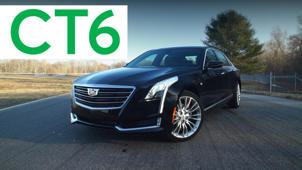 2016 Cadillac CT6 Road Test