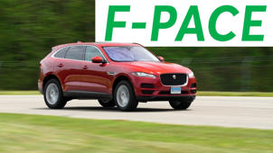 2017 Jaguar F-Pace Road Test