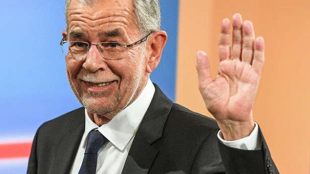Der neue Bundespräsident Österreichs: Alexander Van der Bellen.