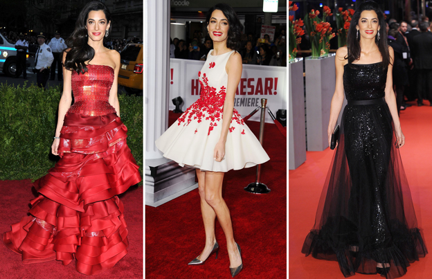Amal Clooney: Style file