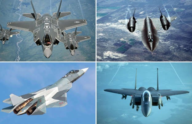 Fastest aircraft to take to the skies