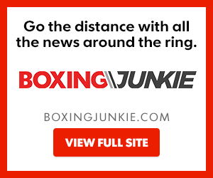 Boxing Junkie