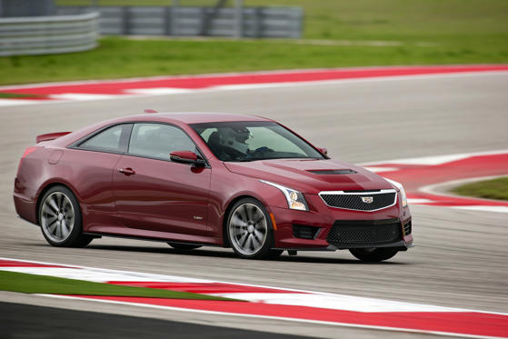 2017 Cadillac Ats V Coupe Overview Msn Autos