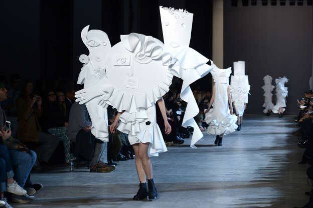54 of the most unusual things worn on the runway