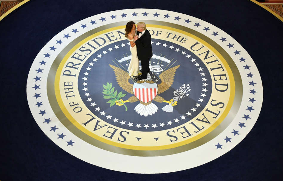 US Presidential Inauguration   A Salute to Our Armed Forces Ball   Washington  USA. US President Donald Trump