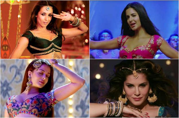 Most popular Bollywood item songs