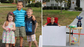 Boy, 6, Gives Away His Toys in 'Lemonade' Stand After Realizing Some Kids Are Less Fortunate: Blake, 6, had his mind set on giving away all his toys when his mom told him some kids didn't have as many toys as he did.
