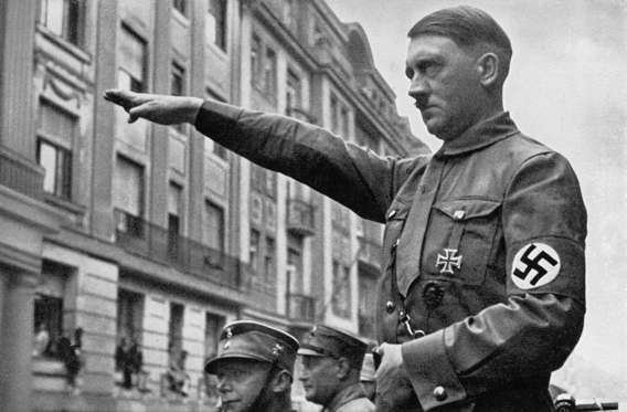 Slide 1 of 17: Adolf Hitler (1889 - 1945) in Munich in the spring of 1932. (Photo by Heinrich Hoffmann/Archive Photos/Getty Images)