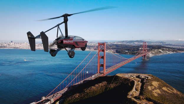 幻灯片 14 - 1: 13 Flying Cars: Some that left the ground and many that did not