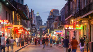 French Quarter, downtown New Orleans, Louisiana