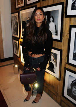 Slide 2 of 57: LONDON, ENGLAND - FEBRUARY 20:  Nicole Scherzinger attends the Aspinal of London - Presentation during the London Fashion Week February 2017 collections on February 20, 2017 in London, England.  (Photo by Eamonn M. McCormack/Getty Images)