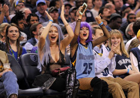 Jack Lawless, JinJoo Lee, Cole Whittle, and Joe Jonas of DNCE attend the NBA All...