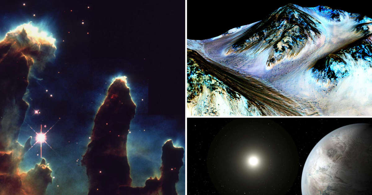 Coolest space discoveries