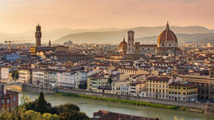 Florence cityscape in Tuscany, Italy