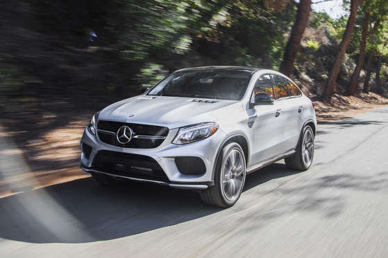 2017 Mercedes Benz Gle Class Coupe Gle43 Amg 4matic Photos And