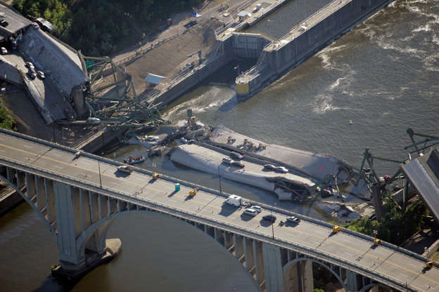 Disastrous bridge collapses you need to see to believe