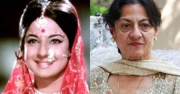 Yesteryear actresses: Then and Now