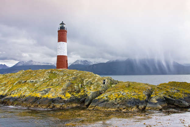Слайд 15 из 17: Argentina March 2009 Tierra del Fuego Beagle Channel Lighthouse of the End of the World