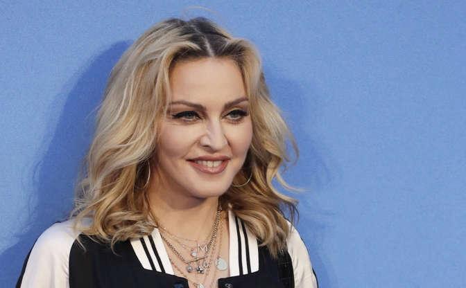 Diapositive2 sur21: La chanteuse Madonna
