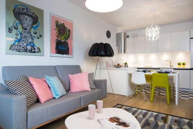 Projekt Salonu Z Kuchnią Jak Mieszkać Przytulnie I
