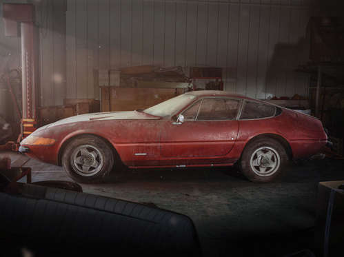 One Off Ferrari Daytona Barn Find Could Fetch More Than GBP15 Million
