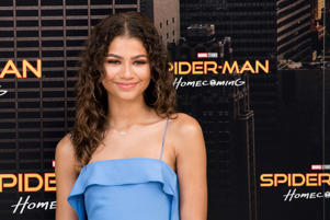 Zendaya attends the 'Spiderman: Homecoming' movie photocall at Villamagna Hotel in Madrid on Jun 14, 2017 (Photo by Gabriel Maseda/NurPhoto via Getty Images)
