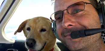 This Army veteran bought a plane to transport shelter animals