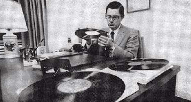 Slide 3 of 28: Arthur LintgenThis man had a 'vinyl vision'. What's that? The ability to read vinyl records' details to such a degree that he was able to tell when a song would stop or identify the more up-tempo part of the song.
