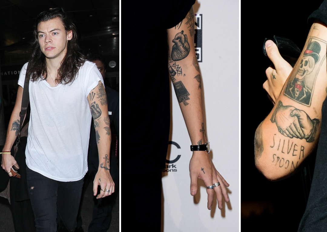 Gwiazdy I Ich Bajeczne Tatuaże