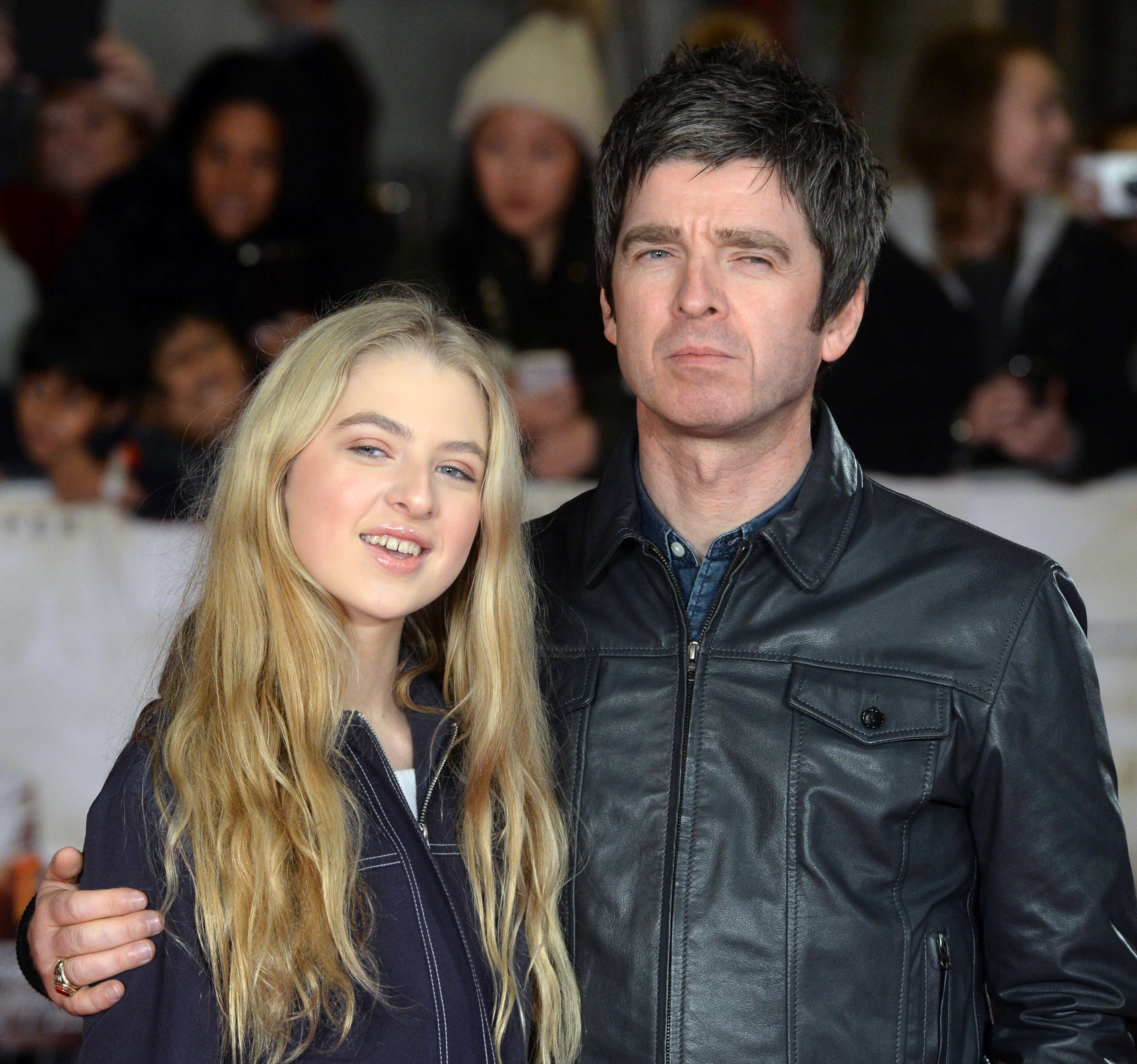 Slide 11 of 18: Noel Gallagher and Anaïs Gallagher attend the premiere of 'Burnt' at Vue, Leicester Square, U.K. on Oct. 28, 2015.