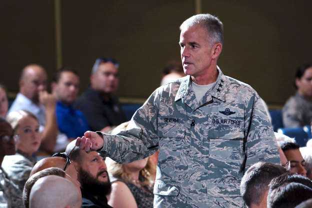 Lt. Gen. Jay Silveria, superintendent of the U.S. Air Force Academy.