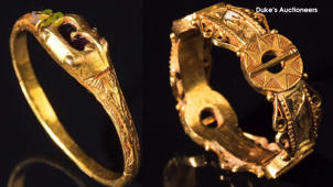 Treasure Hunter Stumbles Across Gold Rings Dating Back 600 Years