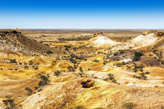 Diapositive 27 sur 28: A cidade australiana registra atualmente uma média de 45º C na sombra.
