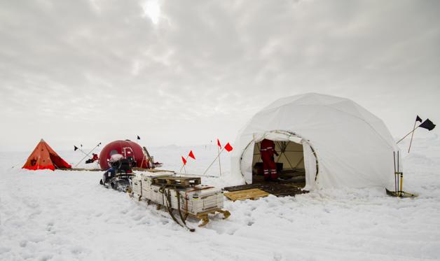 Diapositive 7 sur 28: Segundo a Organização Meteorológica Mundial é a base de pesquisa russa mais fria na Antártida, chegando a registrar -128.6 °C em 1983.