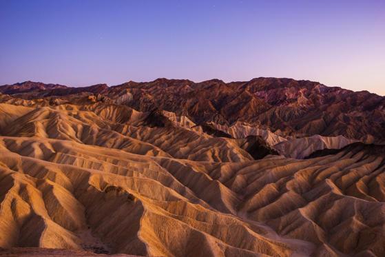 Diapositive 20 sur 28: Os mais de 225 km de deserto de Mojave, é o local mais seco dos Estados Unidos, com temperaturas registradas a mais de 56º C.