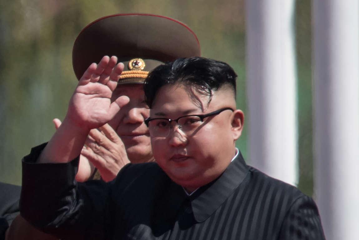 File image of North Korean leader Kim Jong-Un.