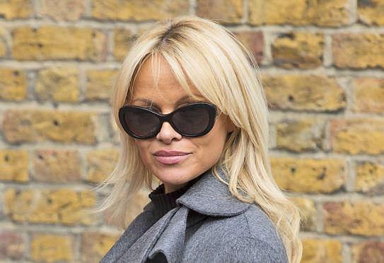 Slide 23 dari 28: Pamela Anderson