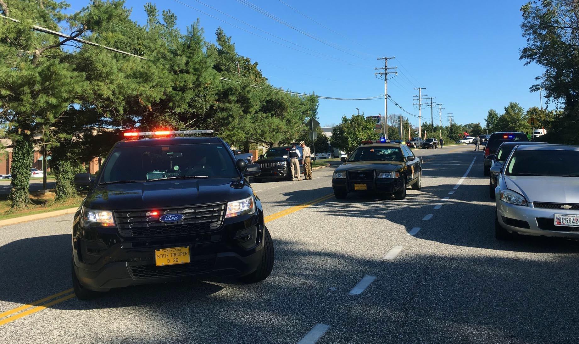 Manhunt underway for gunman in Maryland office park shooting